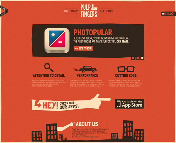 puple1 40 Fresh Web Designs For Your Inspiration