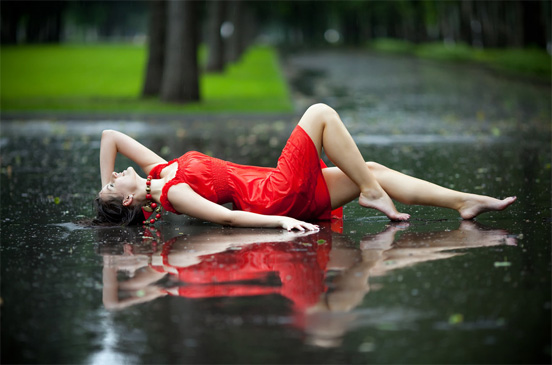rain photography 3 50 Examples of Rain Photography to Lay Aside Your Sadness