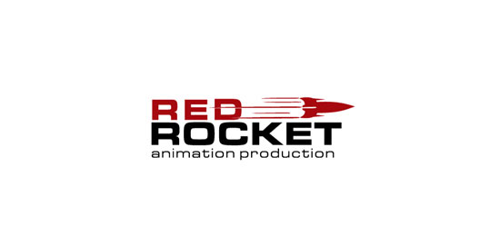 red rocket logo designs1 40 Awesome Rocket Based Logo Designs