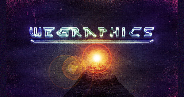 Create a retro sci-fi movie poster