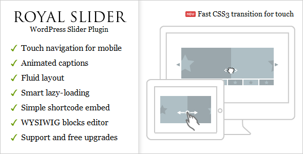 RoyalSlider - Touch Content Slider for WordPress