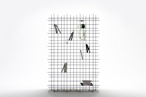 Scatter Shelf by Nendo