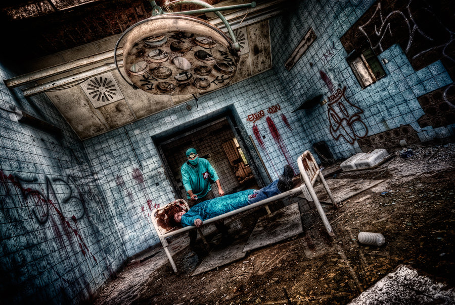 welcome back in the surgery by illpadrino1 40 Chilling Photographs of Urban Decay