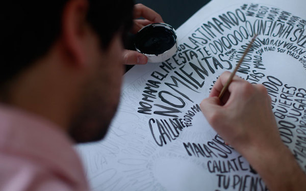 03d770b7a90e3adc7b9086e344fabf48 Awesome Handmade Typography by Pablo Alfieri