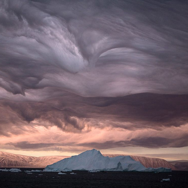 Stratus Clouds, Greenland