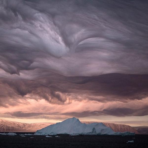 Stratus Clouds, Greenland