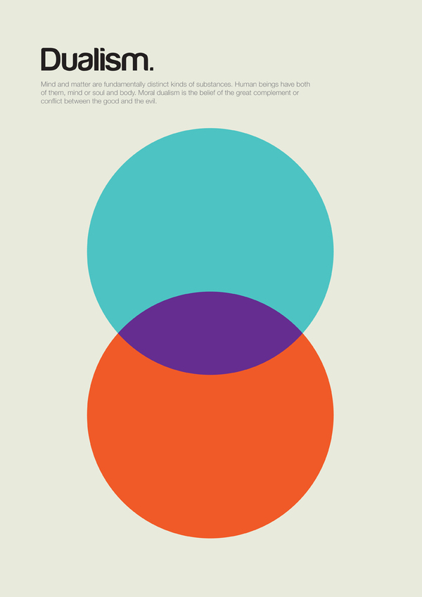 2bf00e208a9e397959a47b764770f154 Impressive Philosophy Posters by Genis Carreras