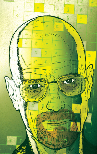 Breaking Bad by Brian Taylor Illustration