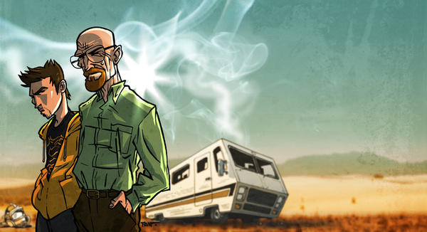 Breaking Bad by Adrien ADN Noterdaem