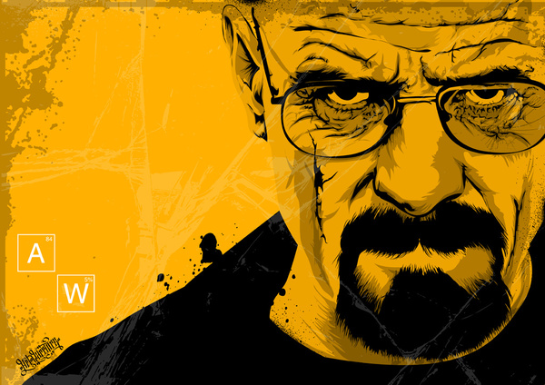 Breaking Bad by Art Warriors