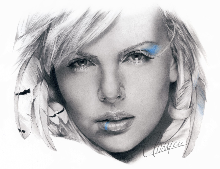 74f667e66f34eeb0b9f0548fc92ec40f d1n3gq61 35 Mindblowing Realistic Pencil Drawings
