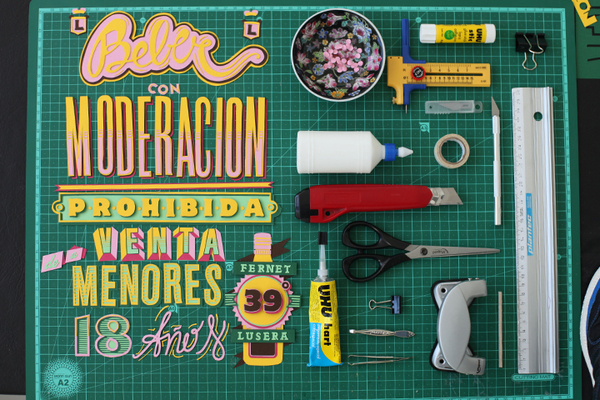 996fb40f876809286535518484bc9189 Awesome Handmade Typography by Pablo Alfieri