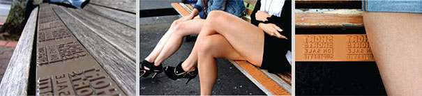 bench advertising 231 20 Creative Examples of Bench Advertising