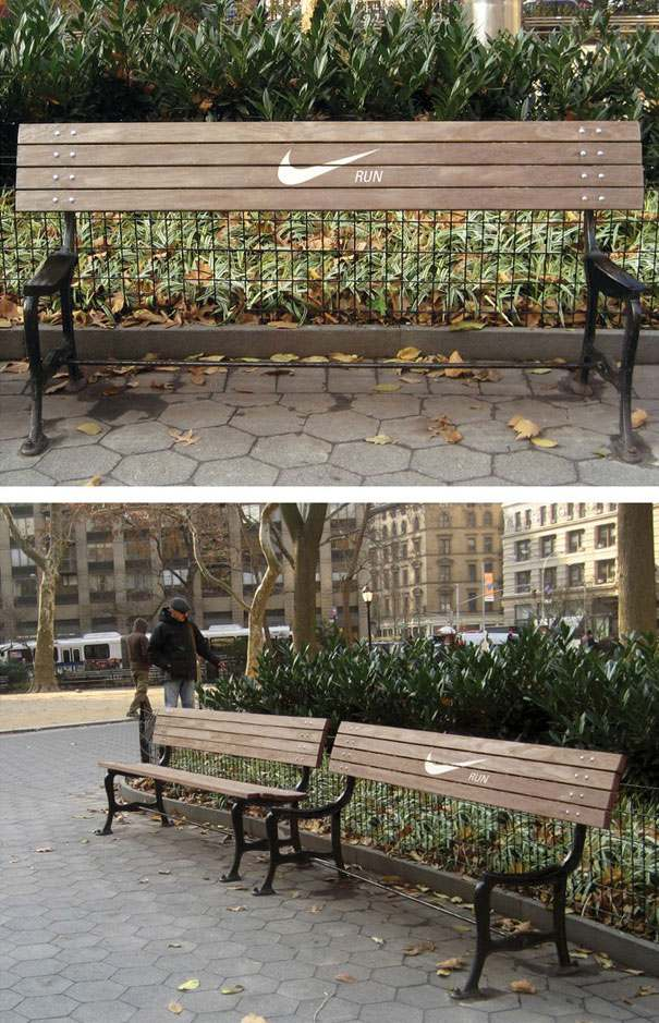bench advertising 41 20 Creative Examples of Bench Advertising