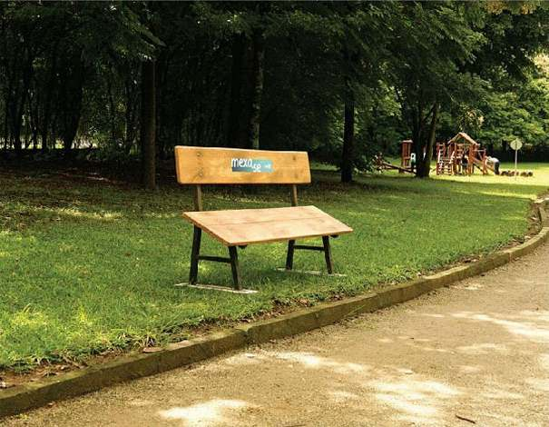 bench advertising 61 20 Creative Examples of Bench Advertising