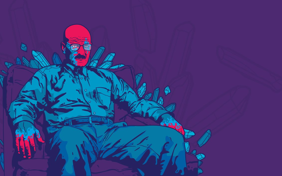Breaking Bad Blue