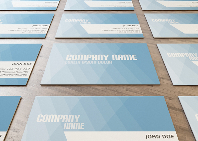 business card12 20 Free Business Card Templates