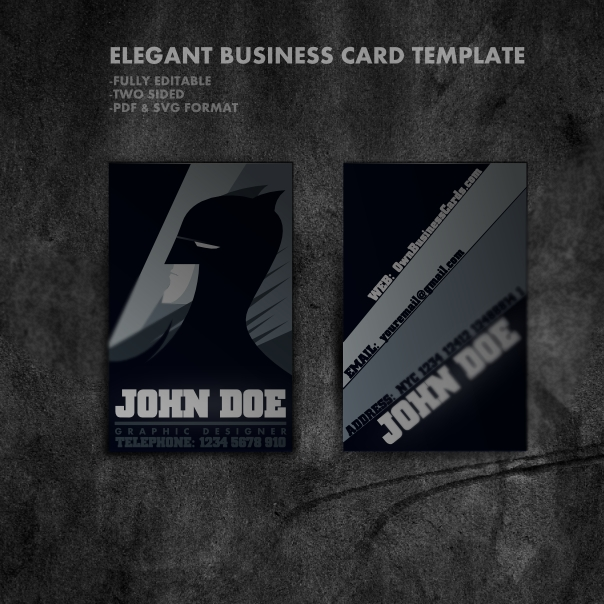 business card7 20 Free Business Card Templates