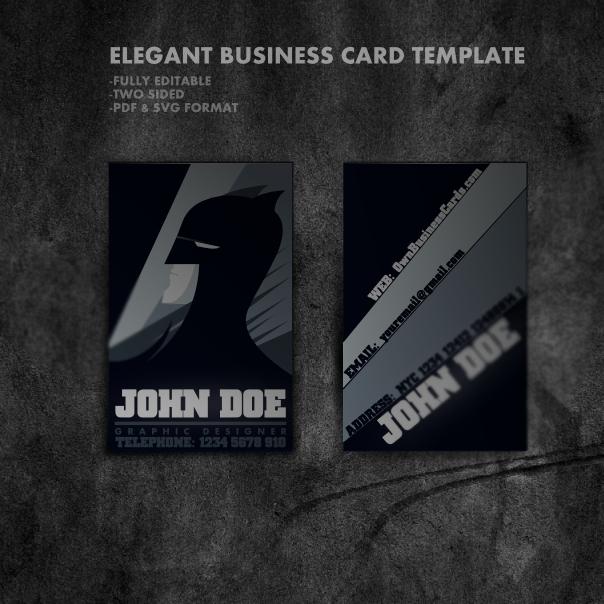 Cartoon Style Business Card