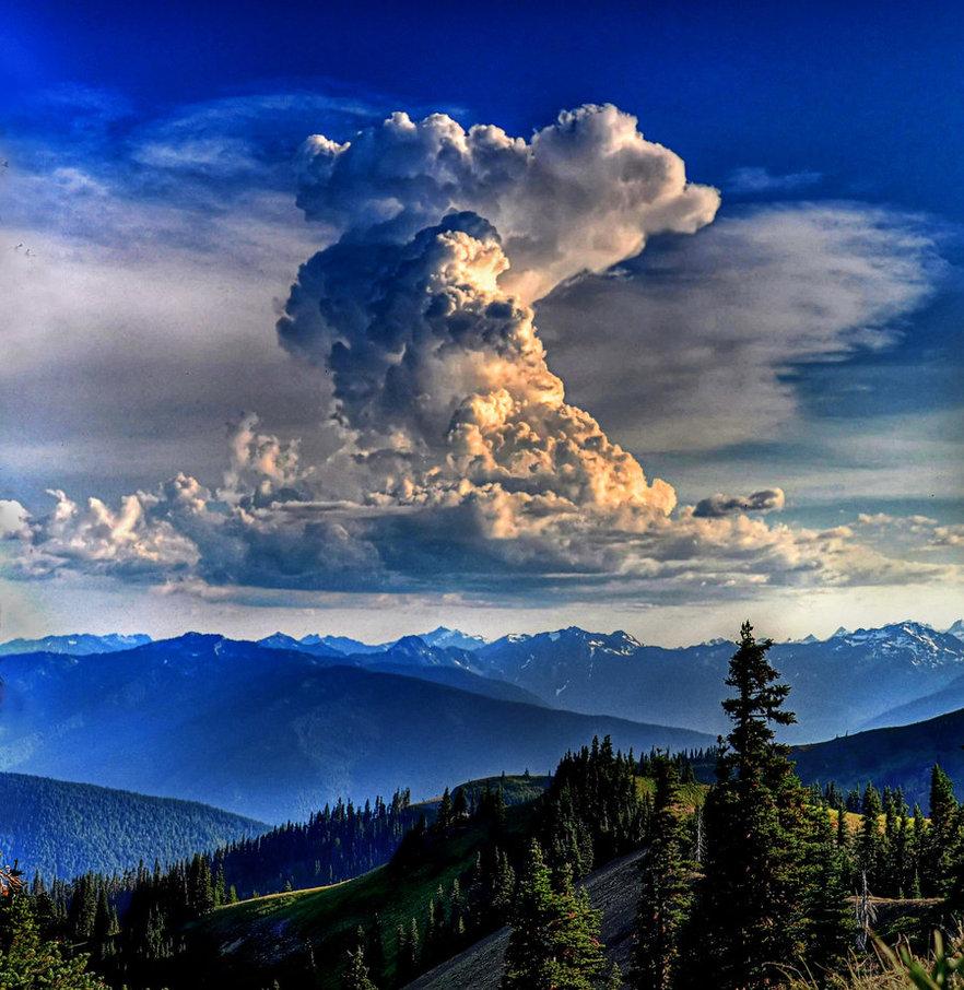 Clouds Over Hurricane Ridge