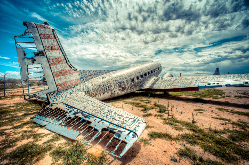dsaf The Boneyard Project: Retired Airplanes turned into Art