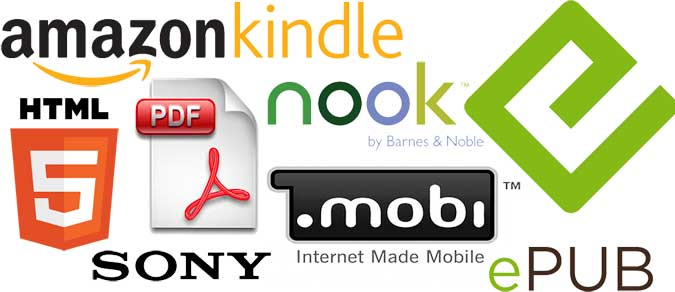 ebook logos and standards large1 Why You Should Write an eBook