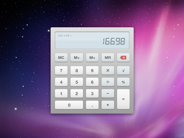 Smooth Calculator