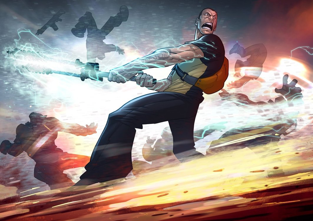infamous 2 by patrickbrown d3ifqef1 25 Outstanding Digital Illustrations by Patrick Brown