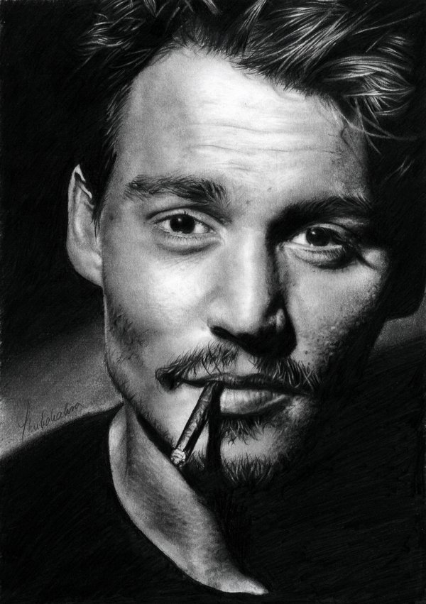 johnny depp ii  by thubakabra d2cgegb1 35 Mindblowing Realistic Pencil Drawings