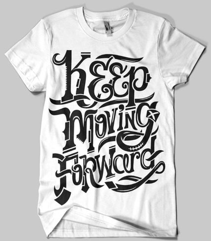 keep m final 11 35 Beautiful Typographic T Shirt Designs