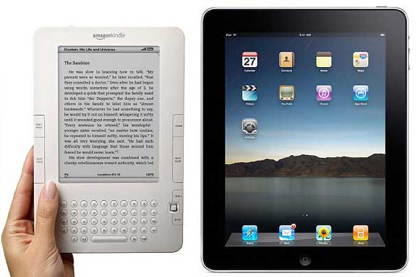 kindle and ipad Why You Should Write an eBook