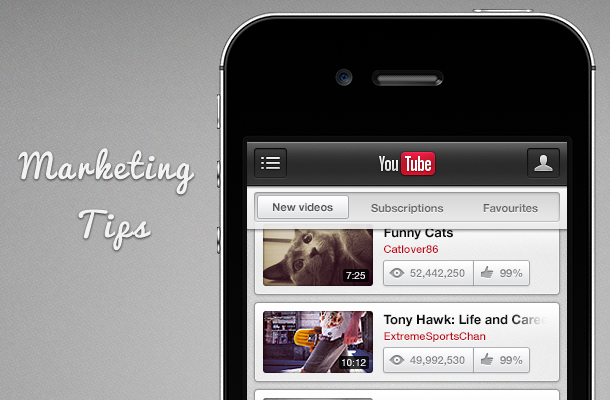 marketing tips YouTube Marketing Tips For Small Businesses