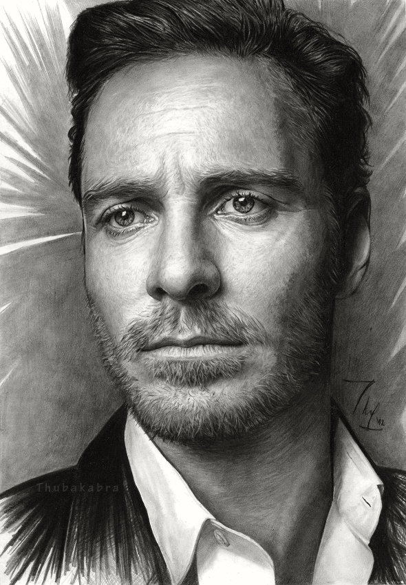 michael fassbender by thubakabra d5cyzv81 35 Mindblowing Realistic Pencil Drawings