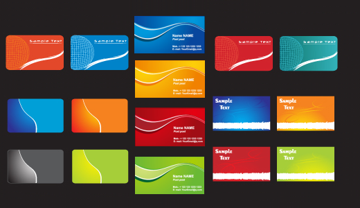 modern business card templates1 20 Free Business Card Templates