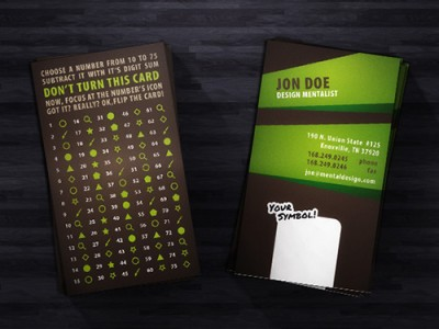 Magic Business Card Design