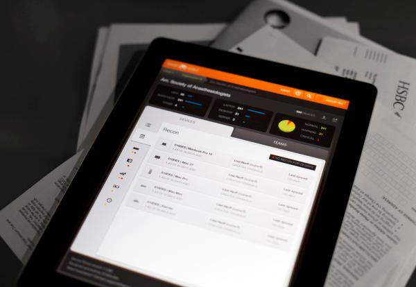 Device Dashboard - iPad