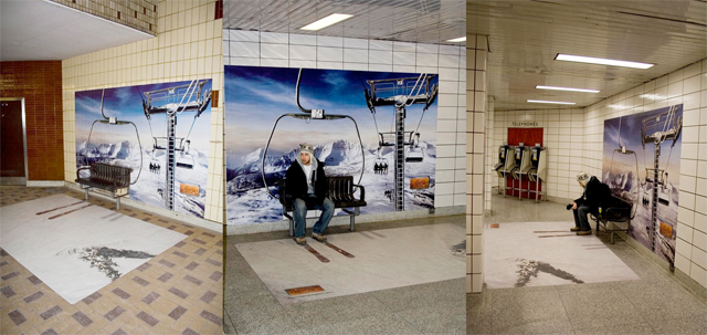 skibench21 20 Creative Examples of Bench Advertising