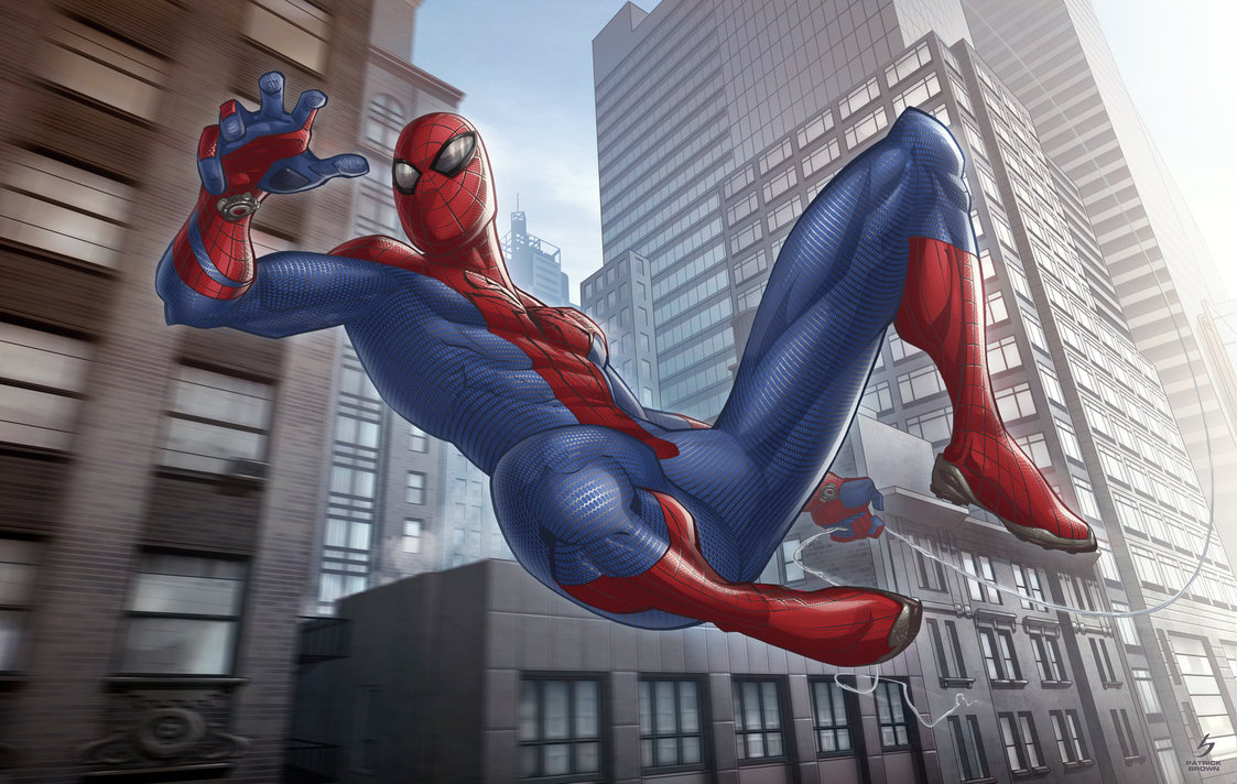 the amazing spider man by patrickbrown d46uu8l1 25 Outstanding Digital Illustrations by Patrick Brown