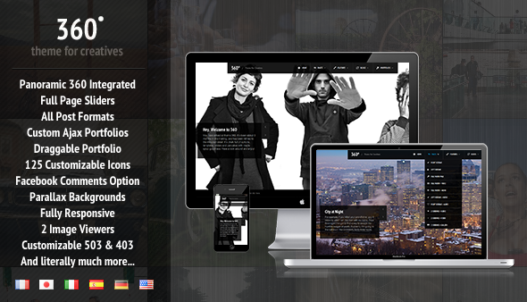 01 preview   large preview1 45 Creative Premium WordPress Themes