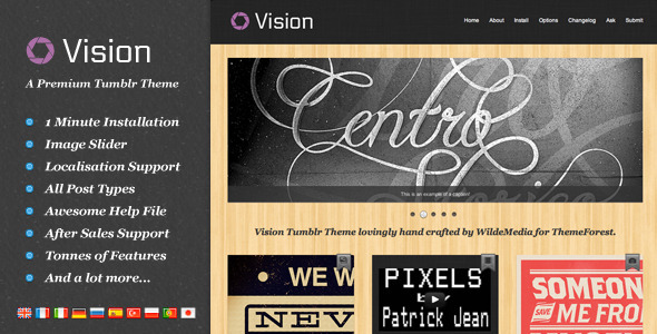 01 preview   large preview16 55 Elegant and Customizable Tumblr Themes