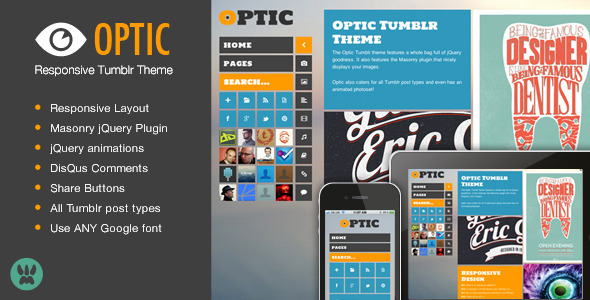 01 preview   large preview33 30 Beautiful Premium Tumblr Themes