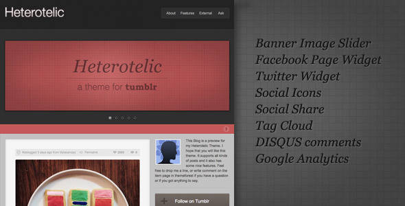 01 preview   large preview34 55 Elegant and Customizable Tumblr Themes