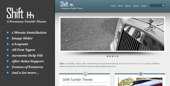 01 preview   large preview35 55 Elegant and Customizable Tumblr Themes