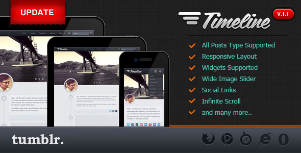 01 theme preview   large preview1 55 Elegant and Customizable Tumblr Themes