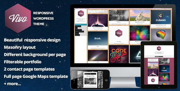 01 vivo   large preview1 45 Creative Premium WordPress Themes