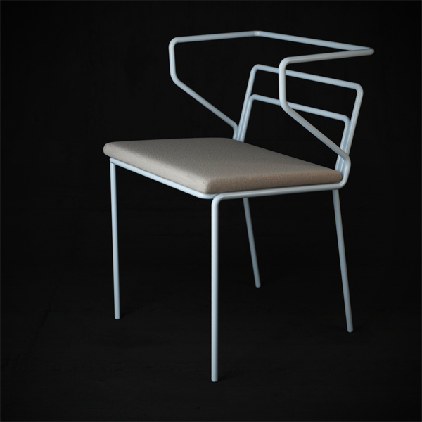 Line chair by Oleksandr Shestakovych