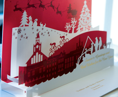 3094584907 1e65f71b9e1 35 Outstanding Pop Up Holiday Cards