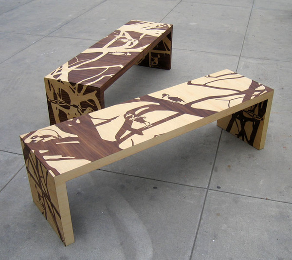 Remains Benches by Elyse Marks
