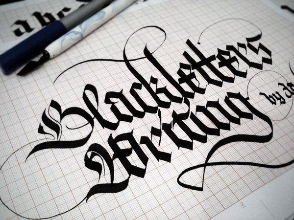 http://www.behance.net/gallery/Calligraphy-Lettering/1779480