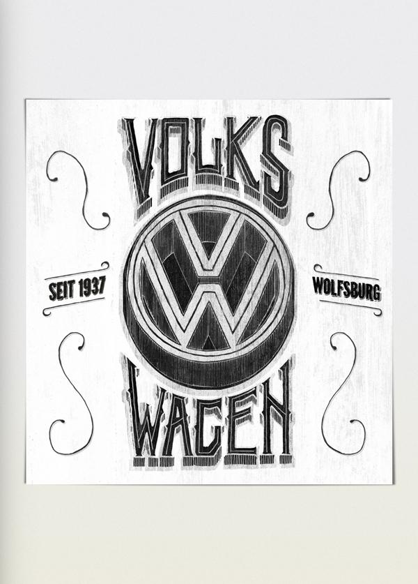 Volkswagen Lettering